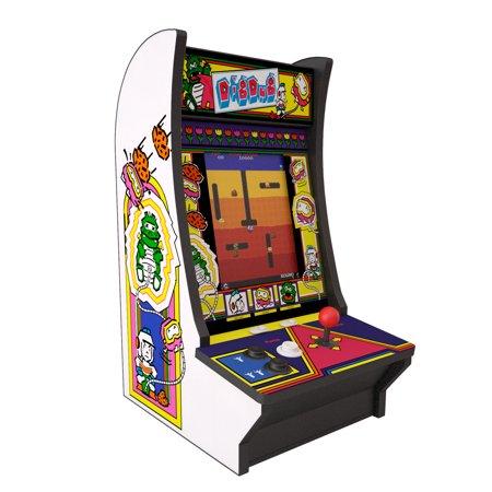 Dig Dug & Dig Dug 2 Counter Arcade, Arcade1UP, 815221026889
