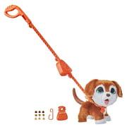 furReal Poopalots Big Wags Interactive Pet Pup, Connectible Leash