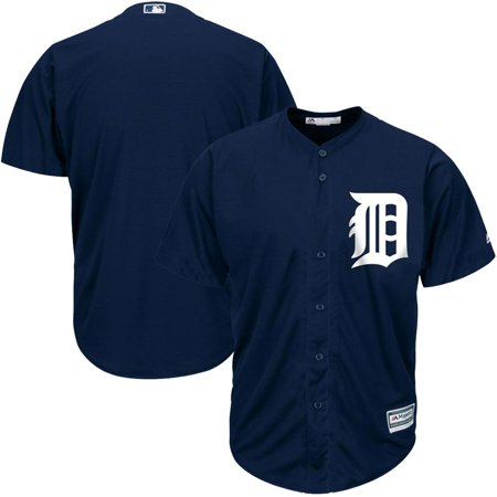 Detroit Tigers Majestic Official Cool Base Jersey - Navy