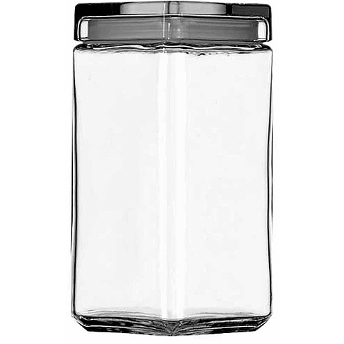 Anchor Hocking 2 qt Stackable Glass Jar by Anchor Hocking
