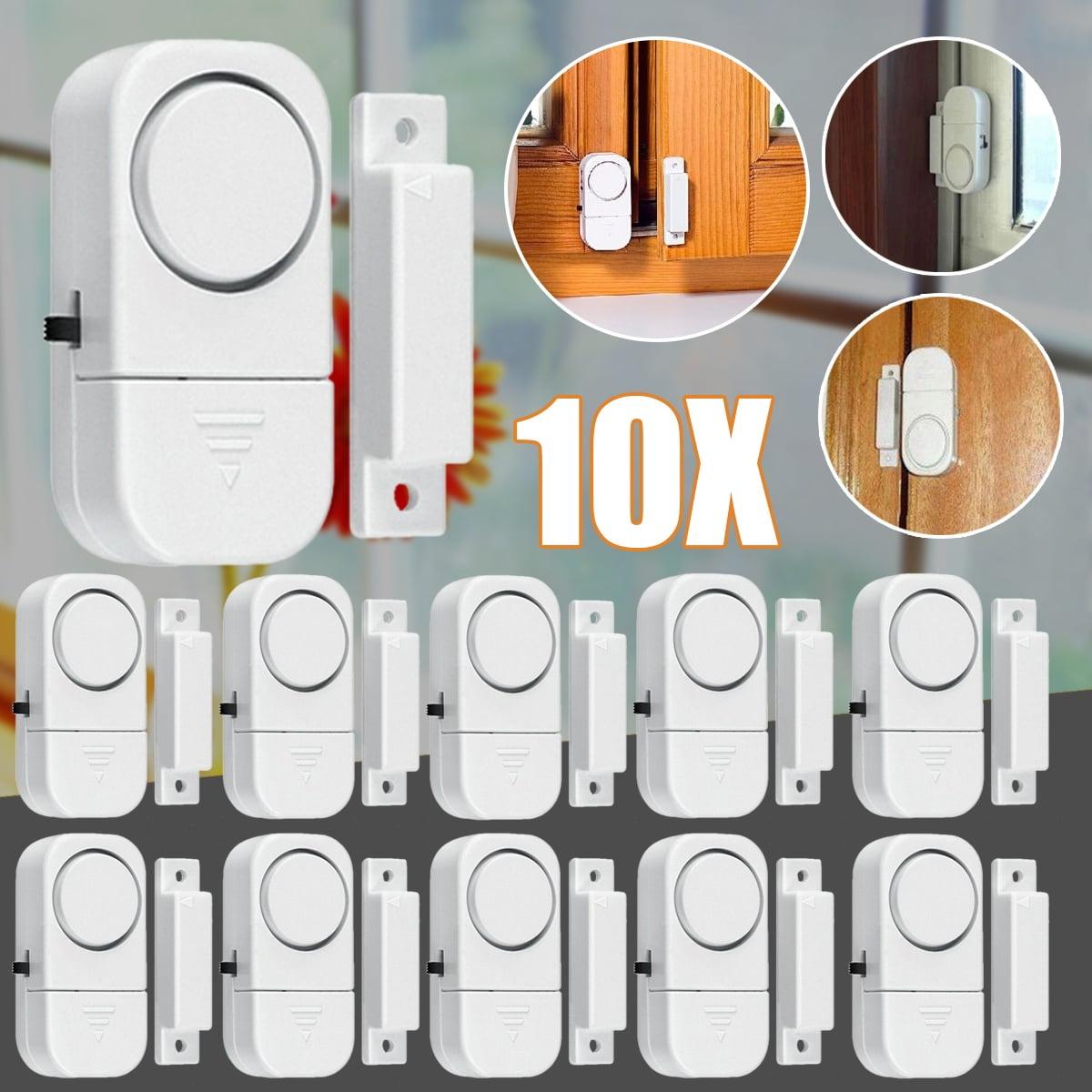 Wireless Window Door Burglar Magnetic Sensor Security Alarm System for Home Shop