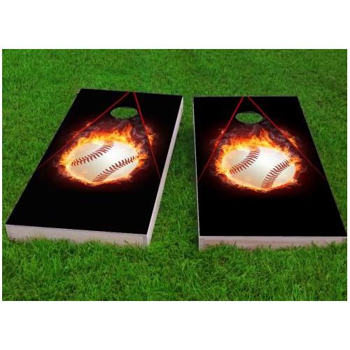 Custom Cornhole Boards Baseball Cornhole Game (Set of 2) by Custom Cornhole Boards