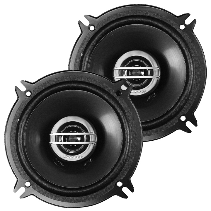 Component Speakers Cars 250 Watts 5.25-in 2-way Speaker For Cars - Pair
