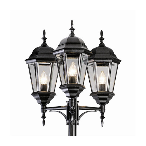 Darby Home Co Fairweather 3-Light 98'' Post Light