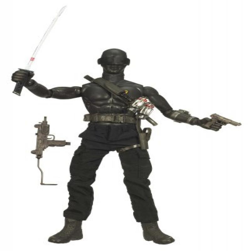 GI Joe Movie 12in Ninja Snake Eyes Figure by Hasbro