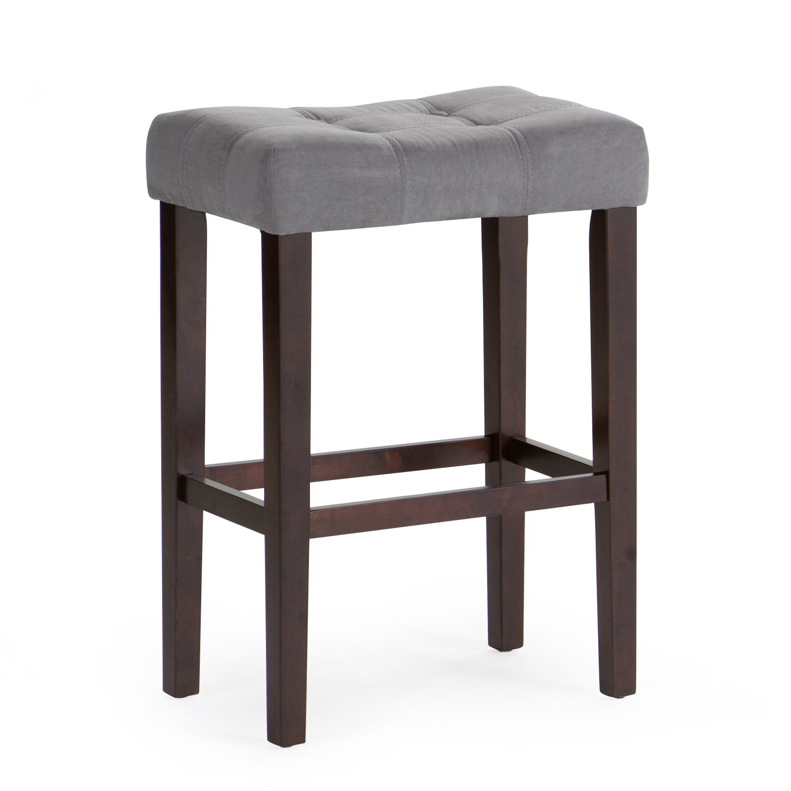 Bonaire 30 in Swivel Bar Stool Brown Cherry Walmart