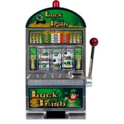 "Luck of the Irish 15"" Slot Machine Bank"