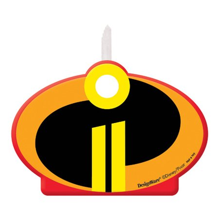 Incredibles 2 Cake Candle (1ct)](Long Candles For Cake)