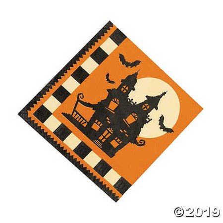 Halloween Silhouette Luncheon Napkins](Silhouette Halloween Shapes)