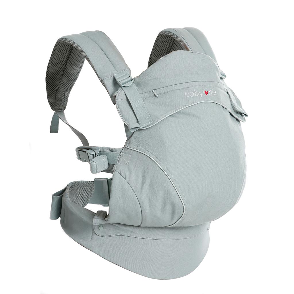 Babylonia Baby Carrier - Flexia Dove Grey