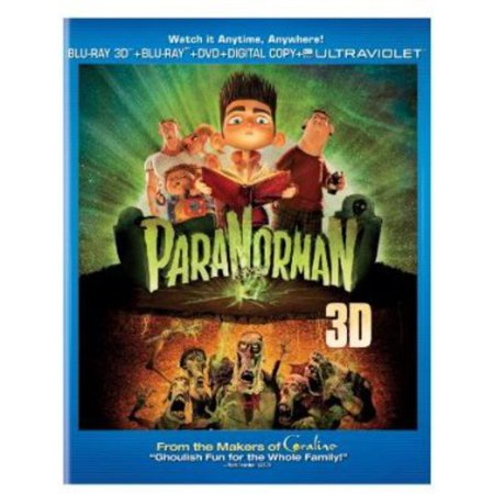 ParaNorman (Blu-ray 3D + DVD + Digital Copy)