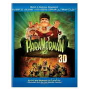 ParaNorman (Blu-ray 3D + DVD + Digital Copy) (Widescreen)