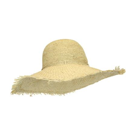 92ba074d9fe Dark Natural Raffia Straw Sun Hat for Women