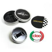 GoBadges Magnetic Grill Badge Holder Starter Kit - Ciao