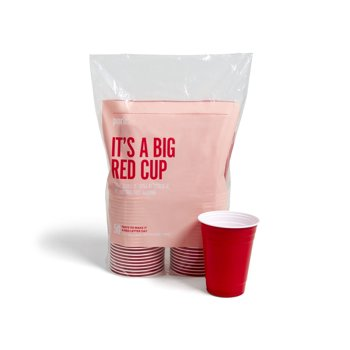 50-Pack Perk Plastic Cold Cup, 16 Oz.
