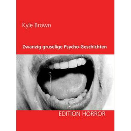 Zwanzig gruselige Psycho-Geschichten - eBook