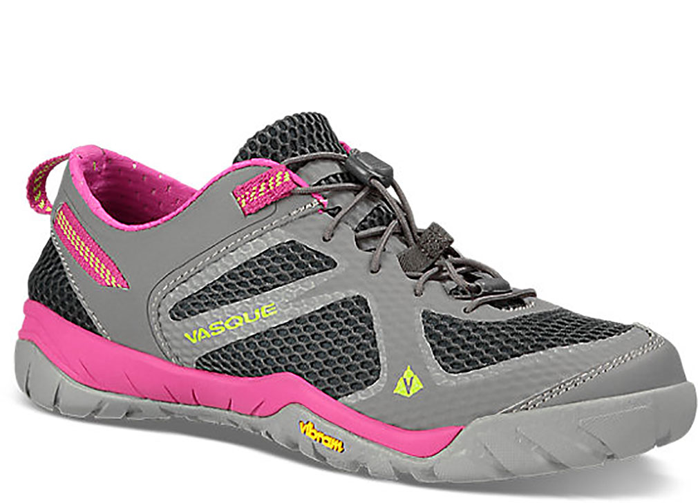 3c71d32eecf7 Vasque Women s LOTIC Gray Hiking Sneakers 7.5 M - Walmart.com
