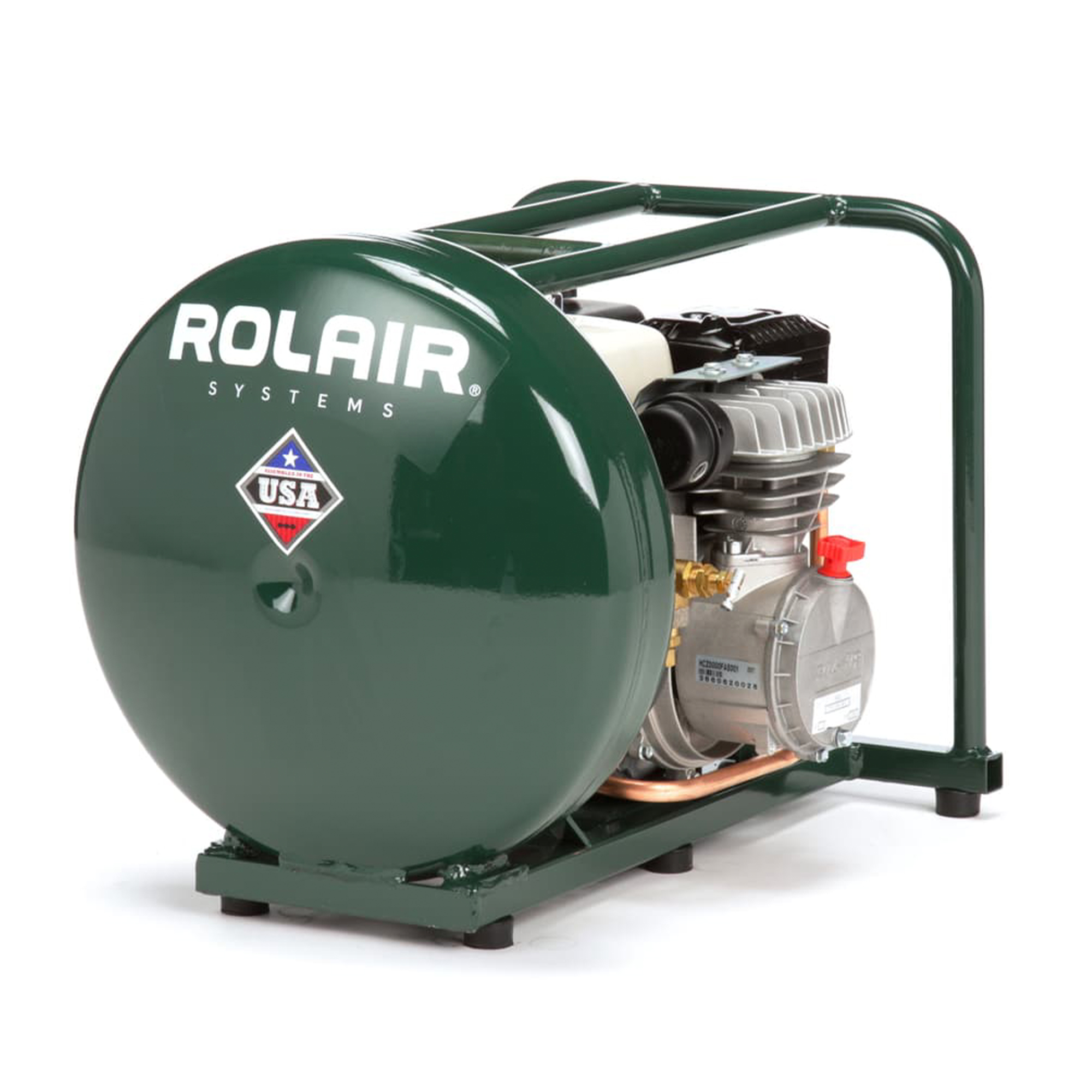 Rolair GD4000PV5H 4.5 Gallon Gas Powered Cordless Small Portable Air Compressor