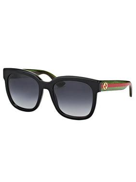 Gucci GG0034S 002 Women's Round Sunglasses