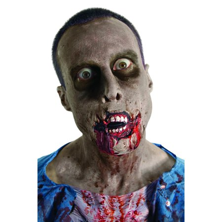 The Walking Dead Grim Grin Latex Prosthetic Costume Makeup](Walking Dead Halloween Makeup)