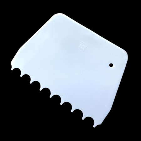 Plastic Cake Edges Scraper Cream Icing Smoother DIY Cakes Decorating Spatula Tool Set Rectangle Triangle - image 5 of 6