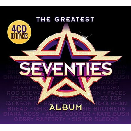 Greatest Seventies Album / Various (CD) - Clothes From The Seventies