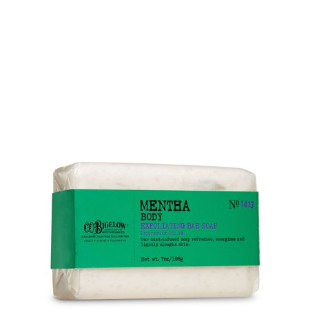 C.O. Bigelow Body Exfoliating Bar Soap - Mentha (7 (Mentha Body Exfoliating Soap)