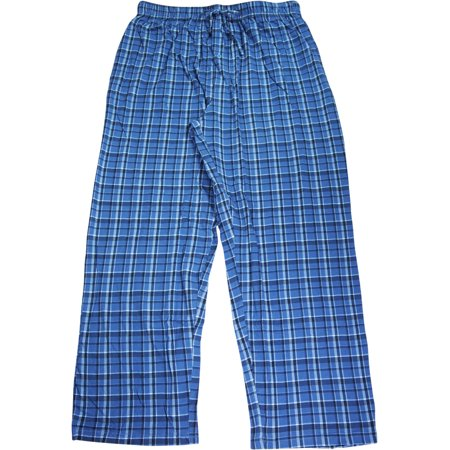 Hanes Mens Premium Comfortsoft 100% Cotton Knit Sleep Lounge Pajama Pants - 4 Great Colors and Prints - 30 Day Guarantee - FREE (Tiger Lounge Pants)