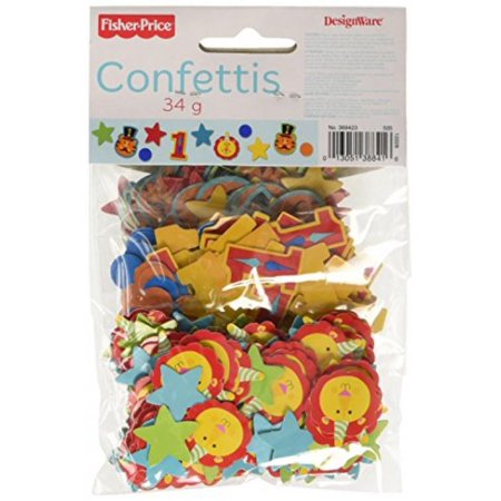 Fisher Price 1st Birthday Circus Confetti Value Pack (3 types)