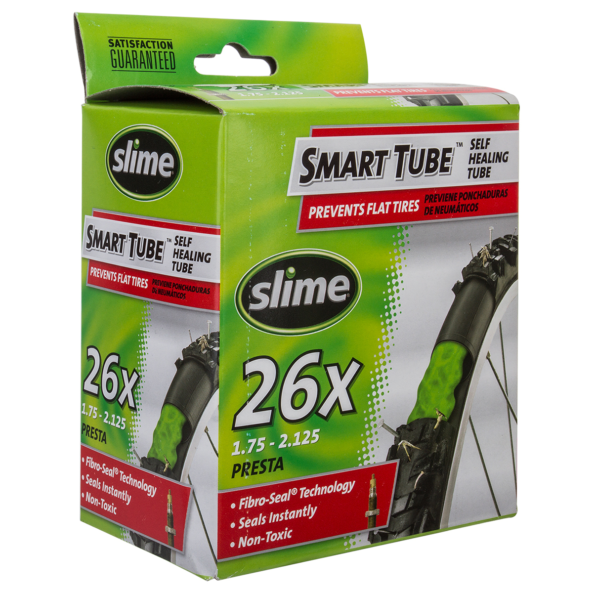 Slime 26 x 1.75-2.125 34mm Presta Self-Sealing tube