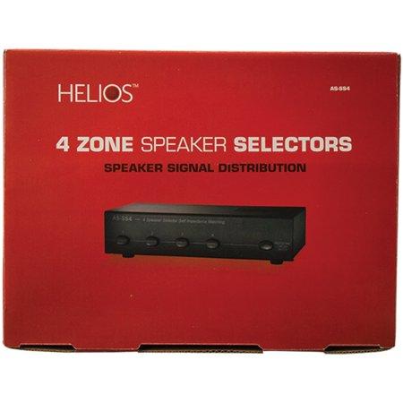 4 Zone Speaker Selector (Helios AS-SS4 Speaker Selector (4 Zones))