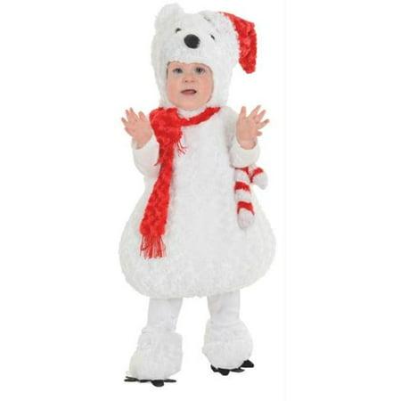 Morris Costumes UR25807TLG Christmas Polar Bear Tod 2-4](Toddler Polar Bear Costume)