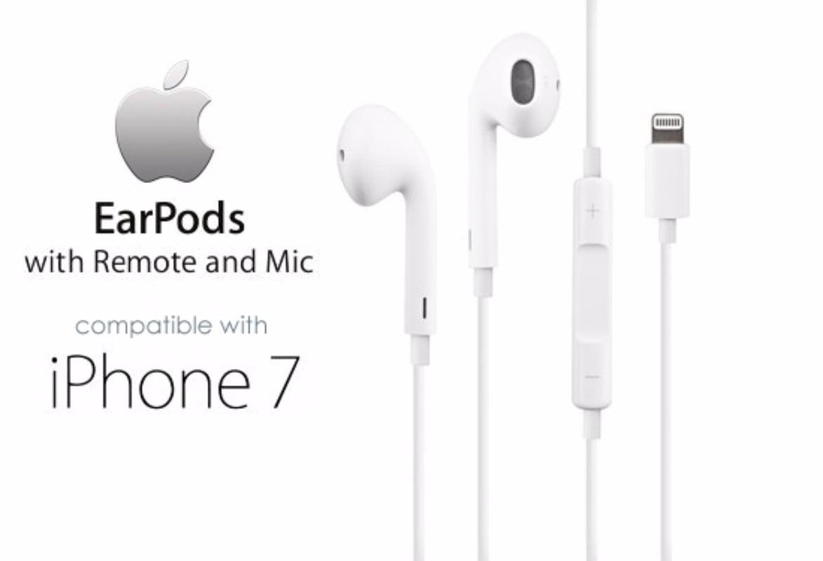 Apple Earpods Headset W Lightning Connector Iphone X 8 7 Mmtn2am A Certified Refurbished Walmart Com Walmart Com