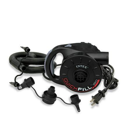 INTEX 120V Quick-Fill AC Power Electric Air Pump w/ 3 Nozzles | 66623E