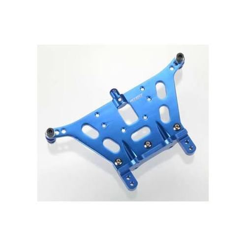 Integy RC Toy Model Hop-ups T8053BLUE V2 Rear Shock Tower for Traxxas Rustler by Integy