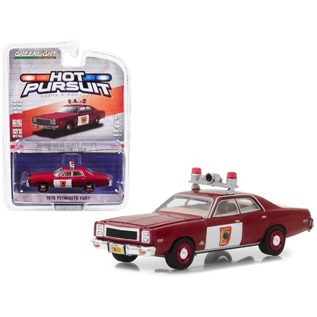 1978 Plymouth Fury Minnesota State Patrol Hot Pursuit Series 27 1/64 Diecast Model Car by Greenlight ()