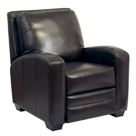 Catnapper Avanti Multi Position No Handle Bonded Leather Recliner in Chocolate ()