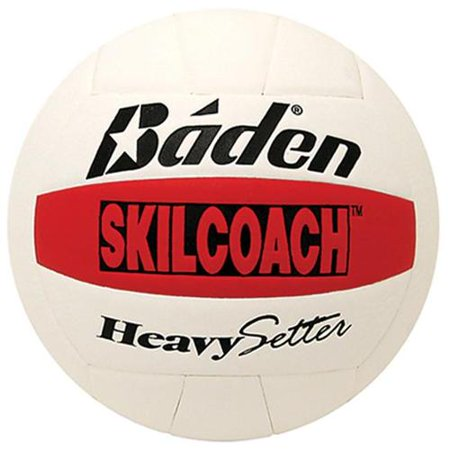 baden skilcoach heavysetter composite training volleyball, official size