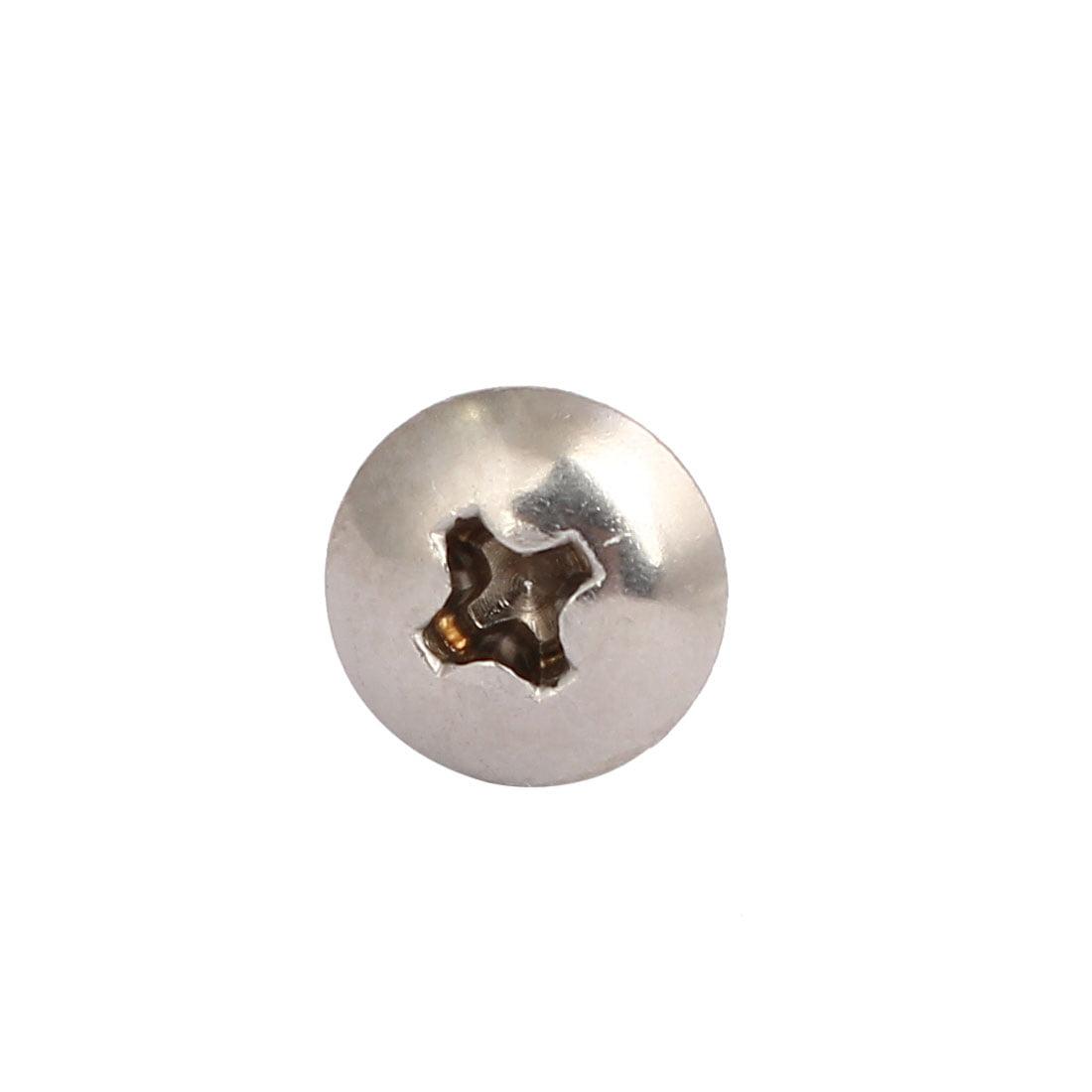M4x25mm Vis à tête auto-taraudeuse drive cruciforme acier inox 316 10Pcs - image 1 de 3