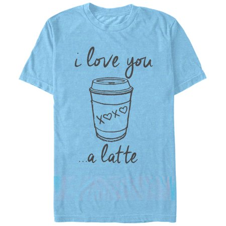 Chin Up Women's I Love You a Latte Cup T-Shirt