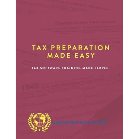 Tax Preparation Made Easy  Tax Software Training Made Simple