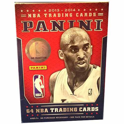 2013-2014 Panini NBA Basketball Trading Cards Value Box