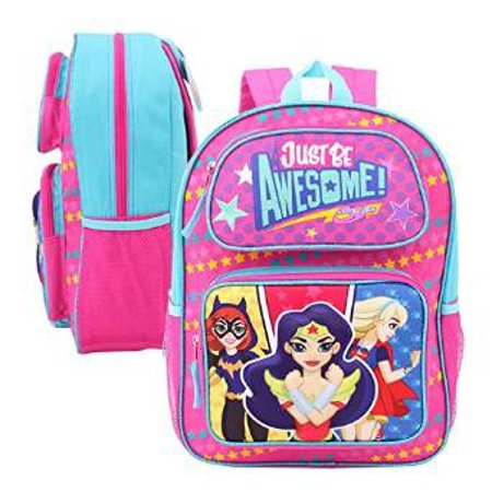 Backpack - DC Comics - Girls Just Be Awesome 3D Pop-Up 16 68164 (Awesome Backpacks)
