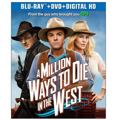 A Million Ways To Die In The West (Blu-ray + DVD + Digital HD) (With INSTAWATCH) (Widescreen)