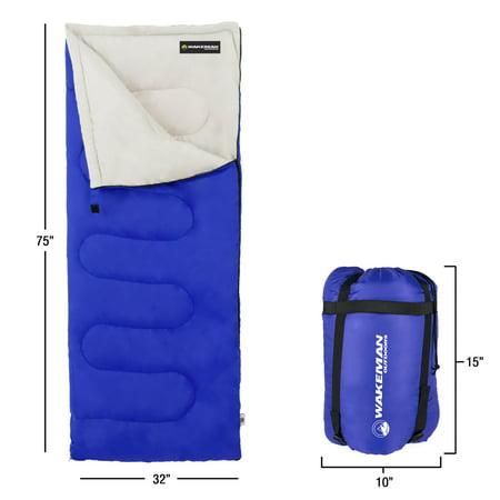 Wakeman Outdoor Spirit Lake 25 Degree Sleeping Bag