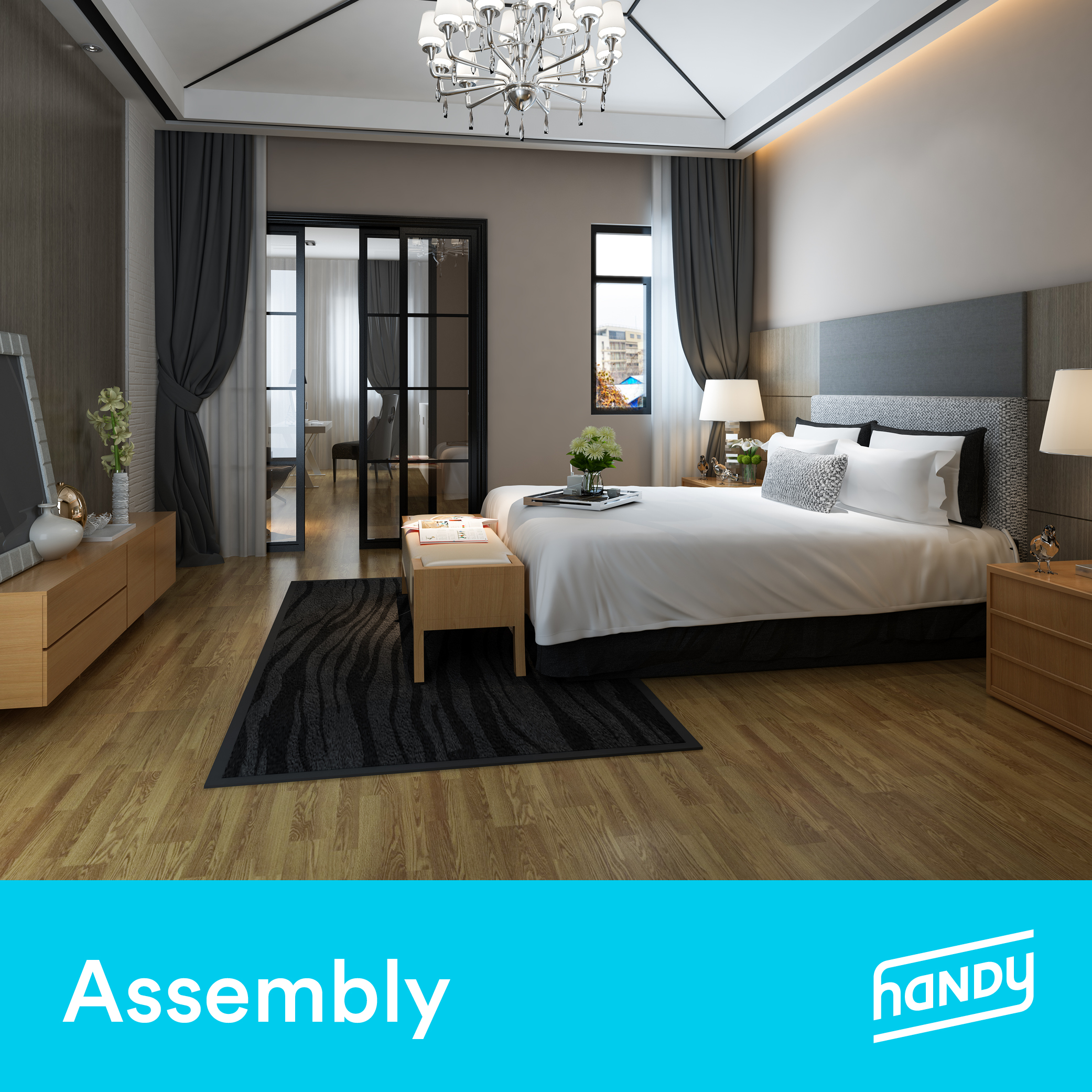 Bedroom Furniture Assembly by Handy