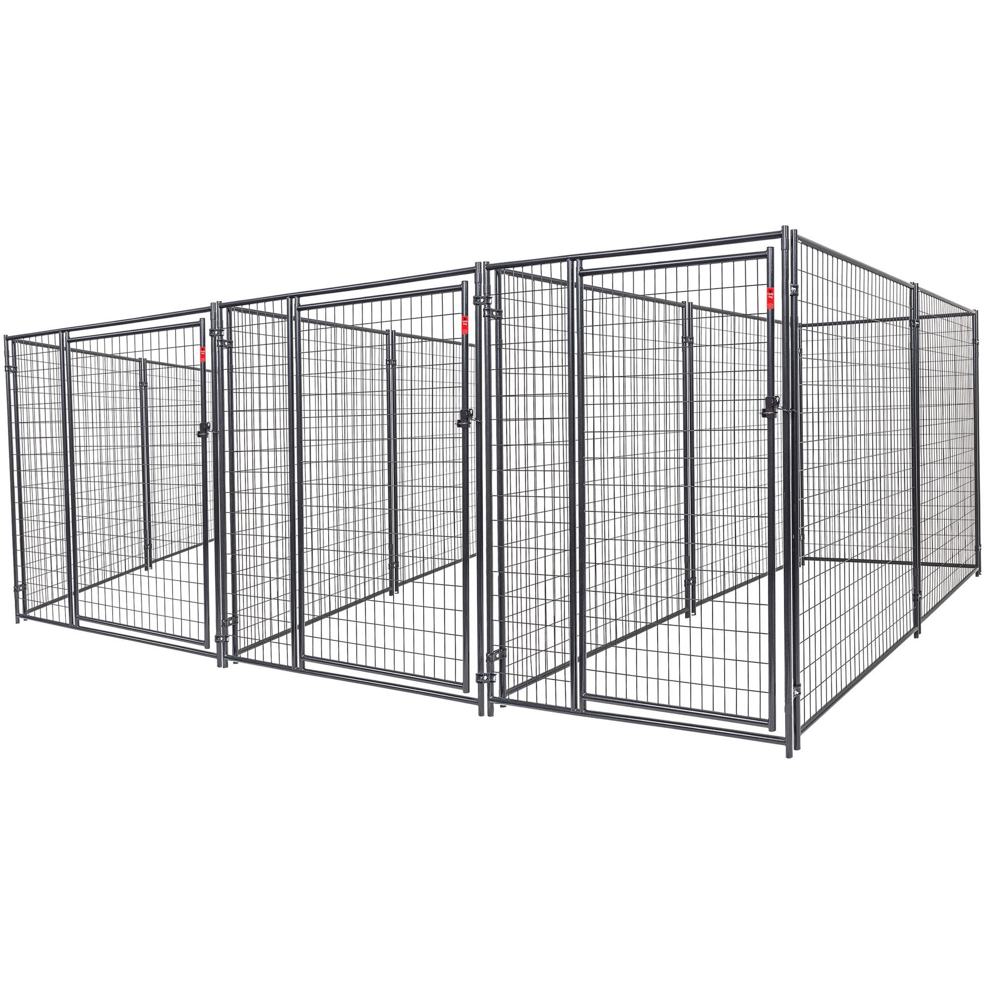 Lucky Dog Heavy Duty Dog Kennel 3 run w/common wall