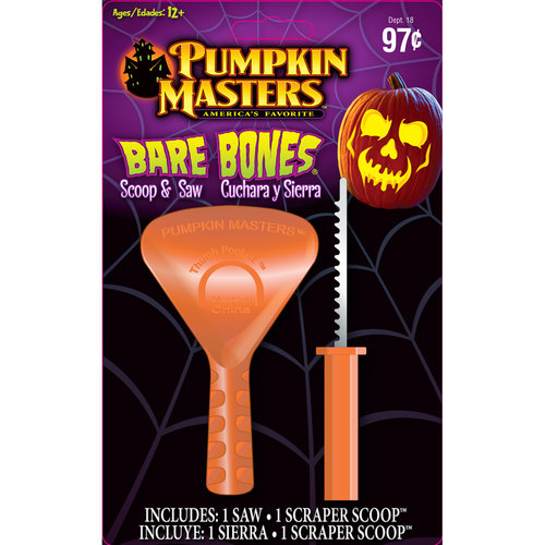 Pumpkin Masters Bare Bones Pumpkin Carving Kit
