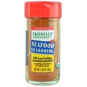 Frontier Reduced Sodium Seafood Seasoning, Certified Organic, 2.3 Oz