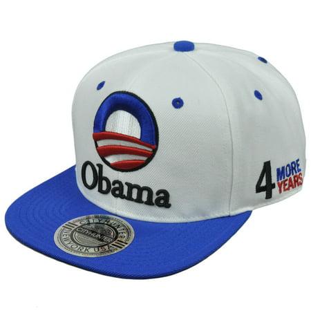President Barack Obama 2012 4 More Years Democrat Yes We Can Hat Cap Snapback